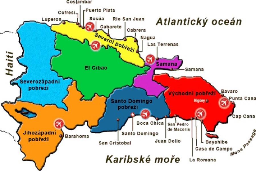 Mapa Dominikanske Republiky A Dalsi Uzitecne Info Kentlucky